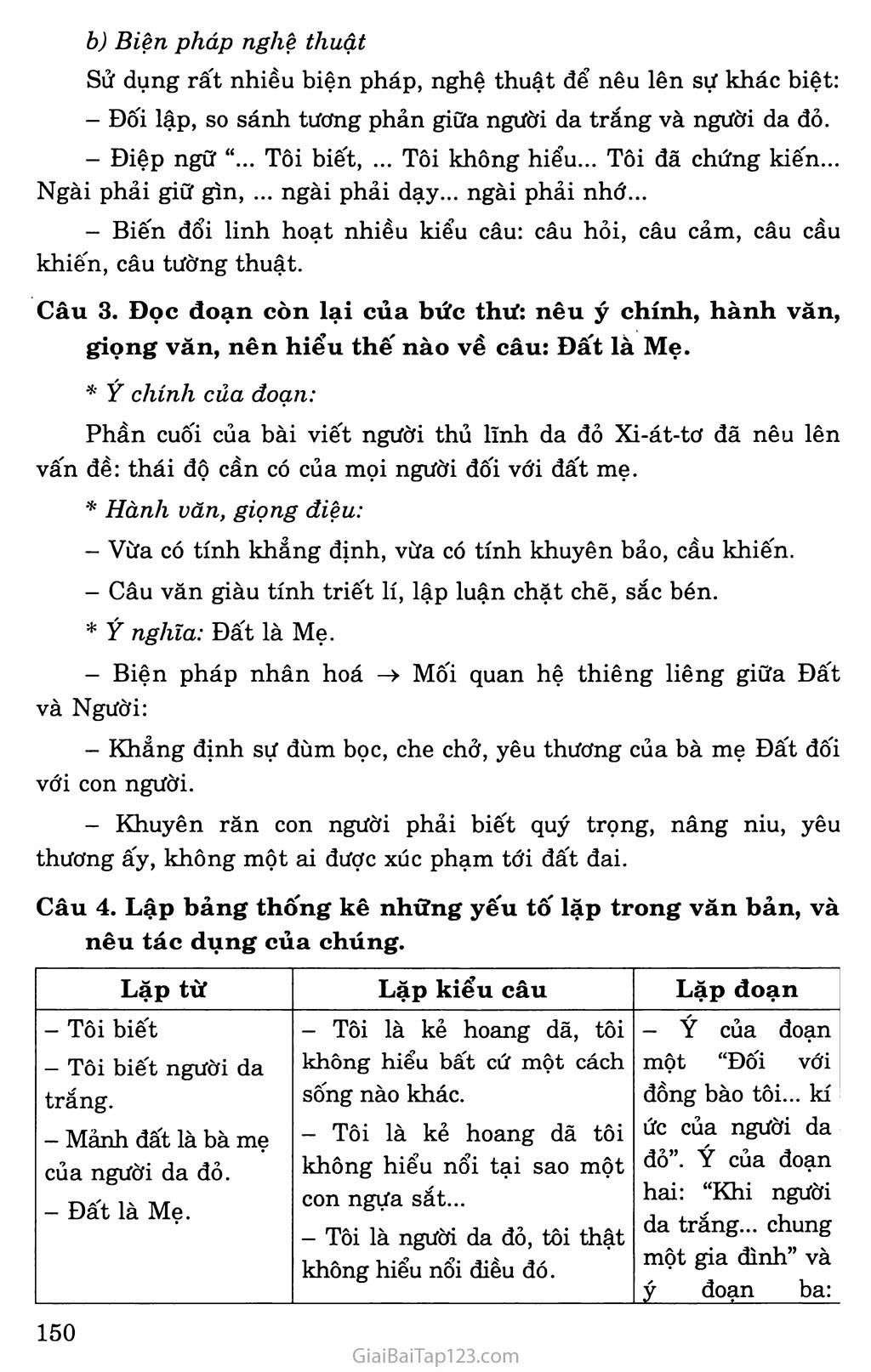 Bức thư của thủ lĩnh da đỏ trang 4