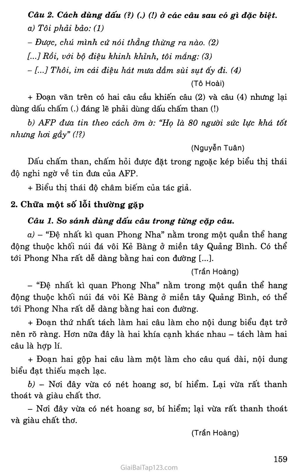 Ôn tập về dấu câu trang 2