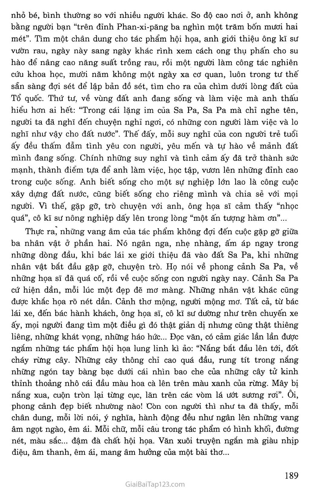 Lặng lẽ Sa Pa (trích) trang 8