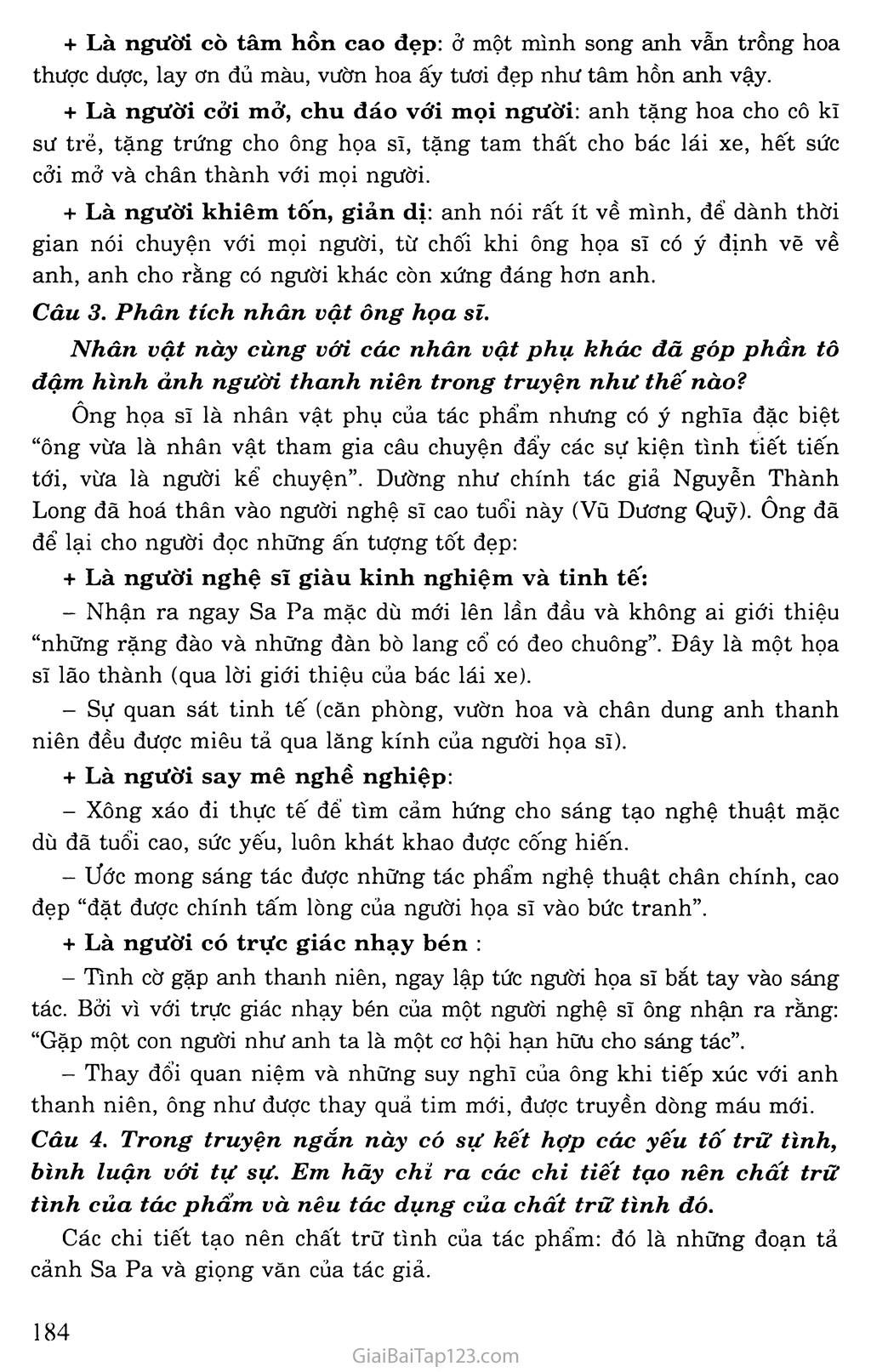 Lặng lẽ Sa Pa (trích) trang 3