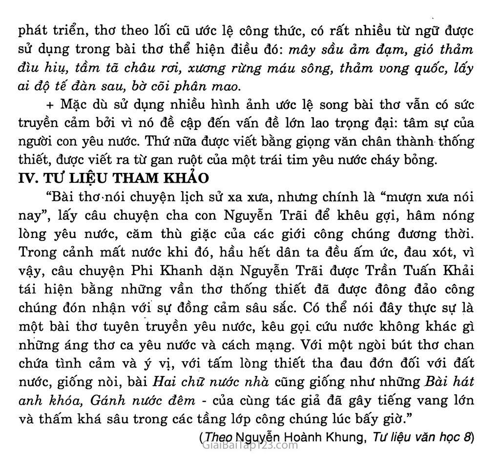 Hai chữ nước nhà (trích) trang 4