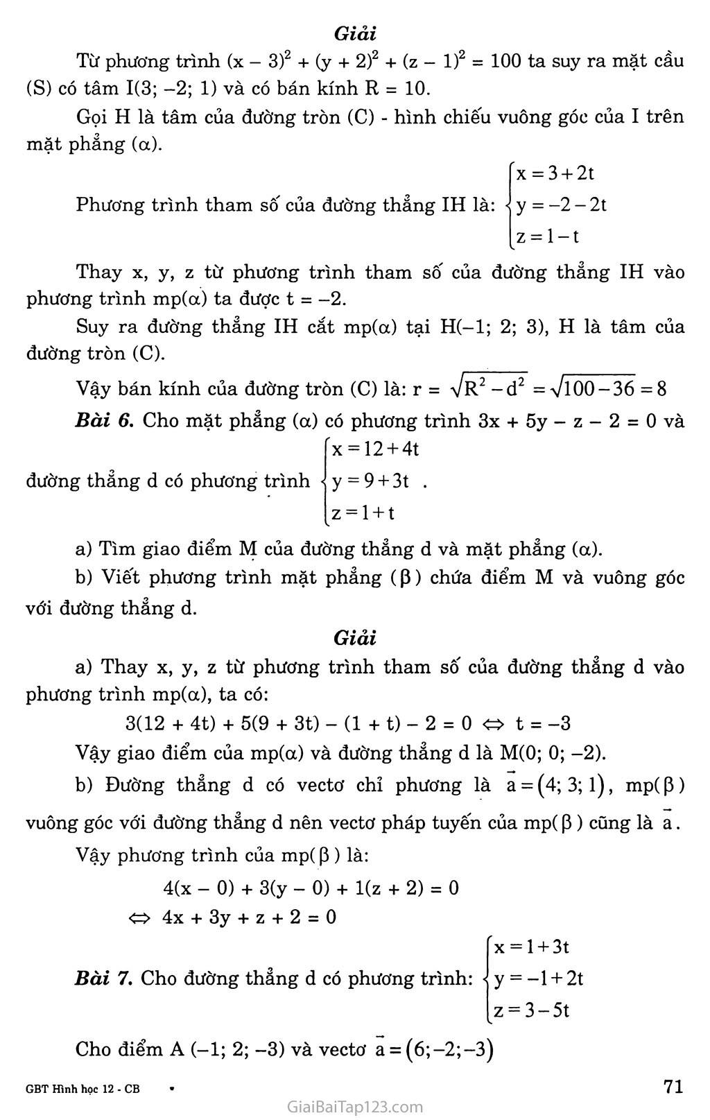 ÔN TẬP CHƯƠNG III trang 4
