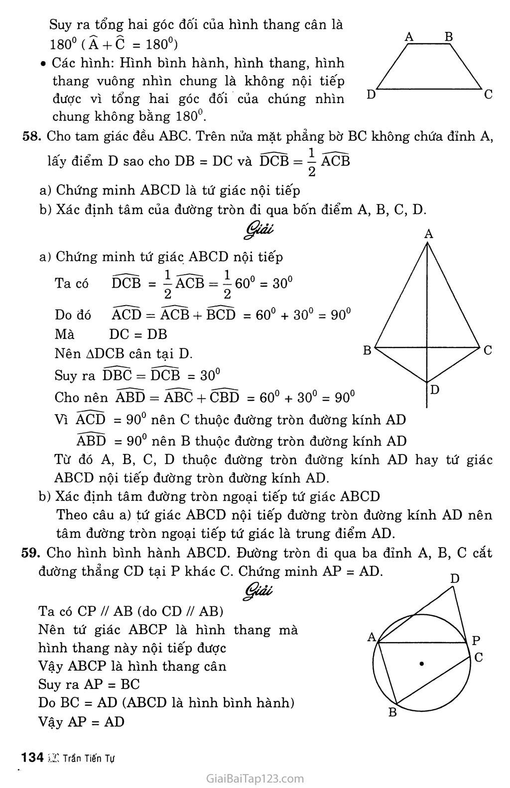 Bài 7. Tứ giác nội tiếp trang 5
