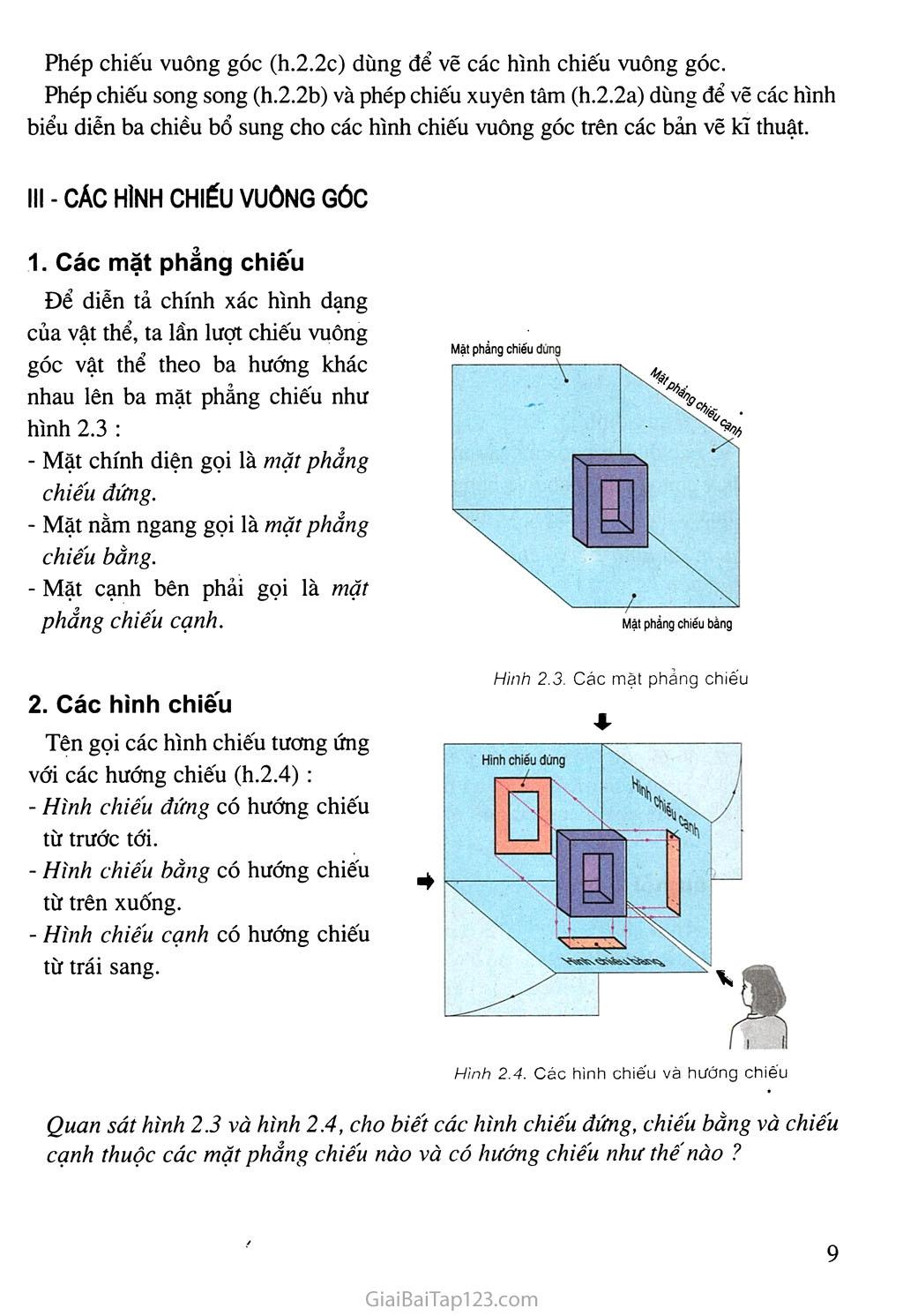 Bài 2. Hình chiếu trang 2