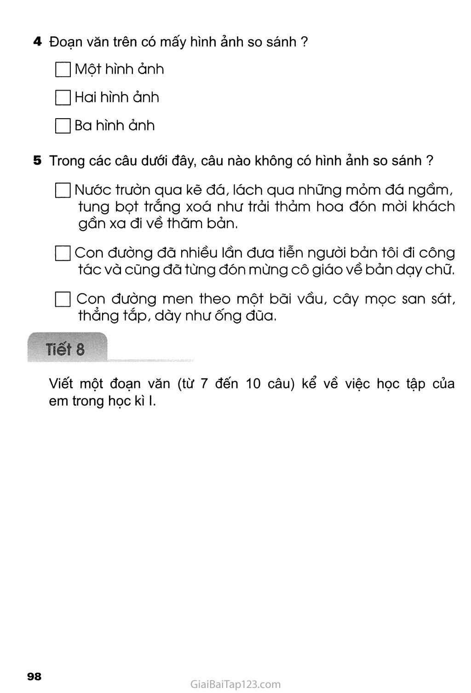 Tuần 18 - Ôn tập cuối học kì I trang 9
