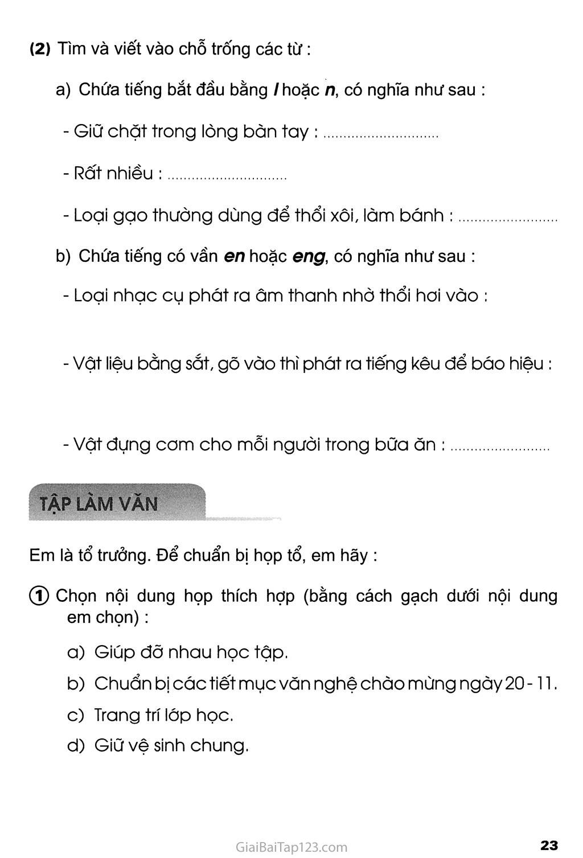 Tuần 5 - Chủ điểm: Tới trường trang 4