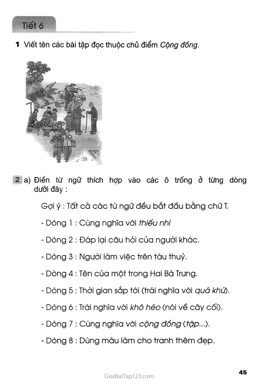 Tuần 9 - Ôn tập giữa học kì I trang 7
