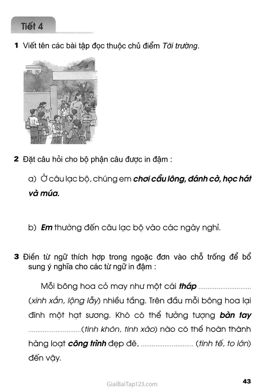 Tuần 9 - Ôn tập giữa học kì I trang 5