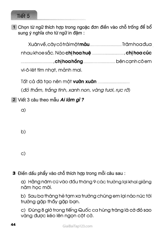 Tuần 9 - Ôn tập giữa học kì I trang 6