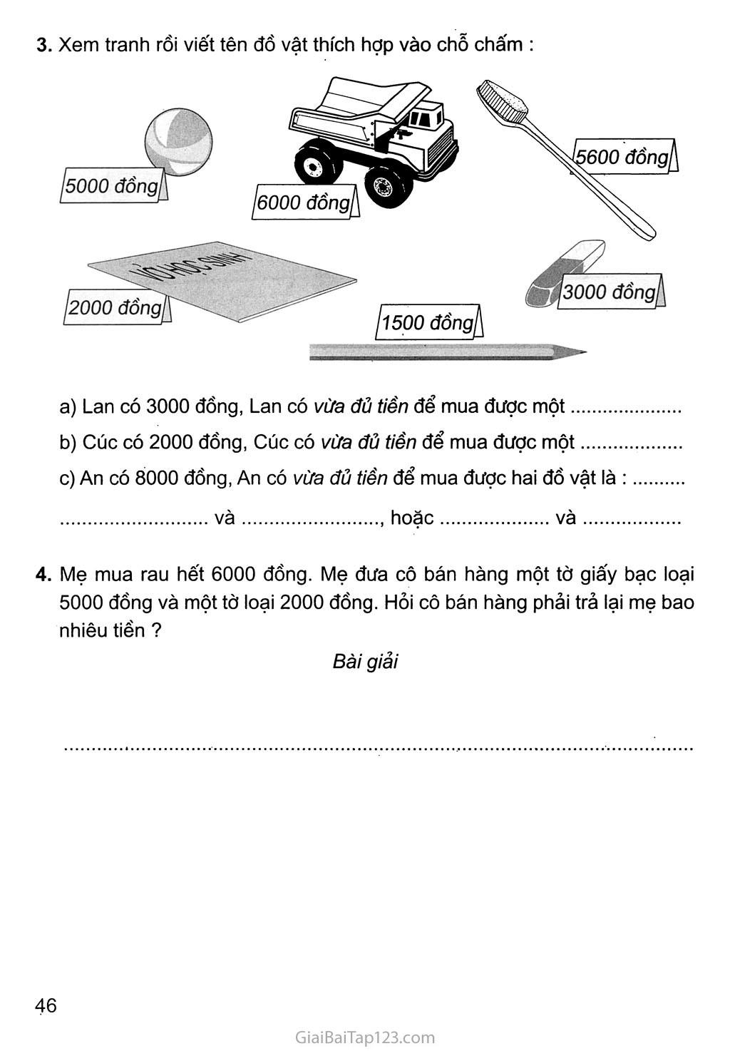 Bài 123: Luyện tập trang 2