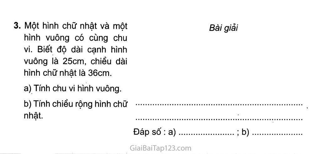 Bài 163: Ôn tập về hình học trang 2
