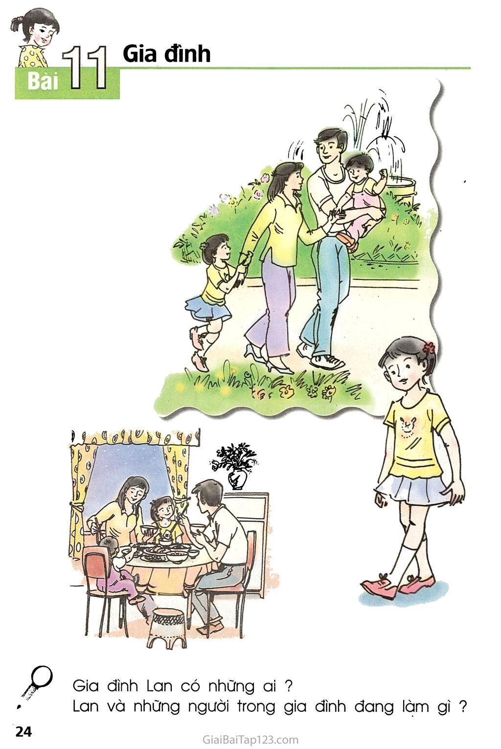 Bài 11. Gia đình trang 2