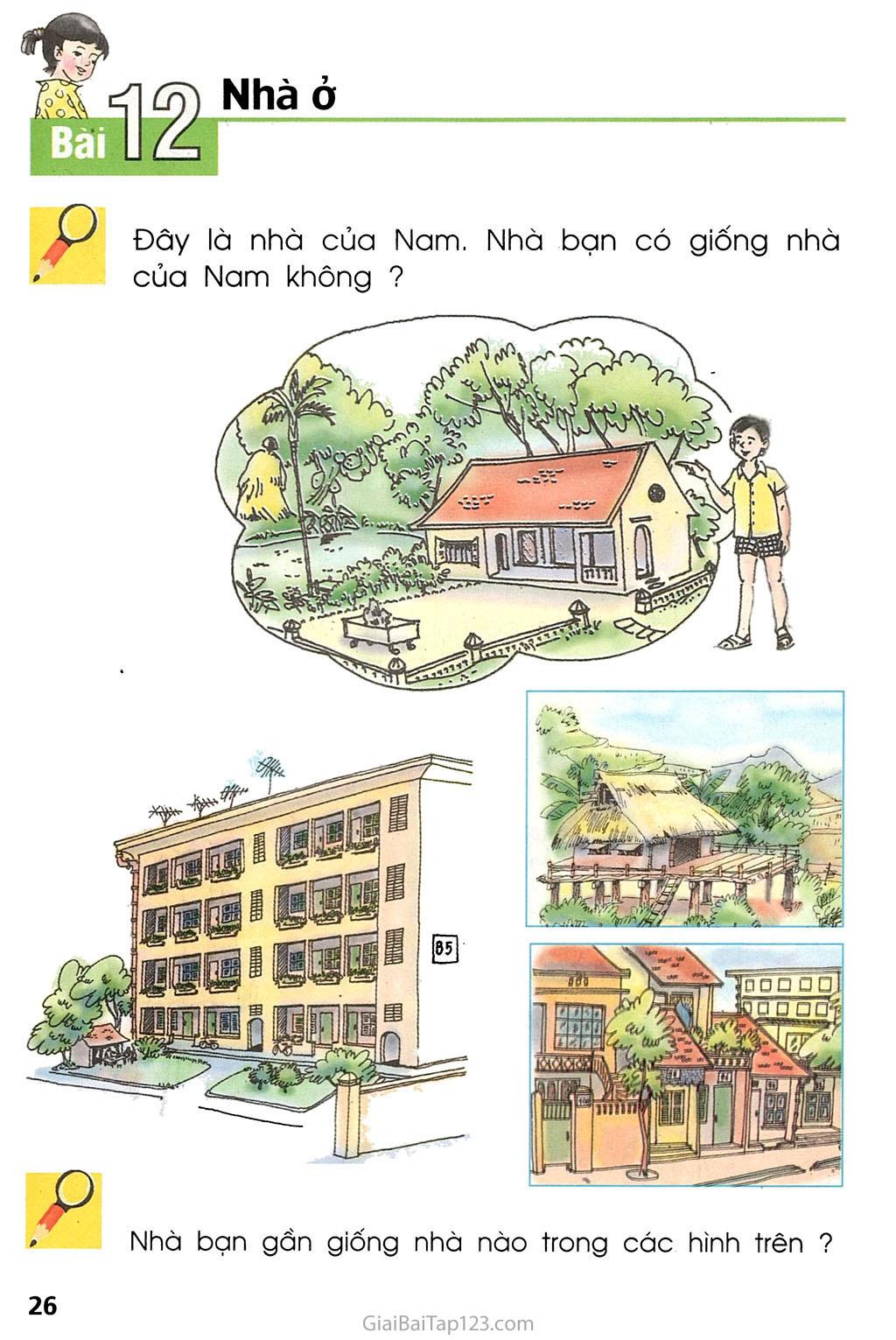 Bài 12. Nhà ở trang 1