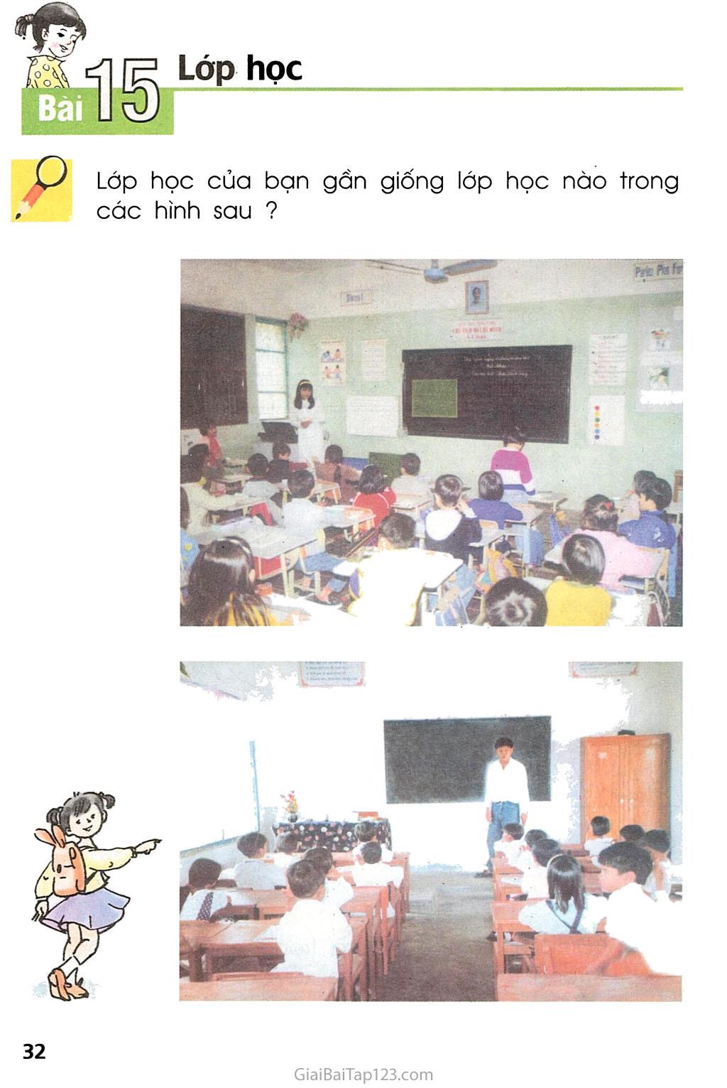 Bài 15. Lớp học trang 1