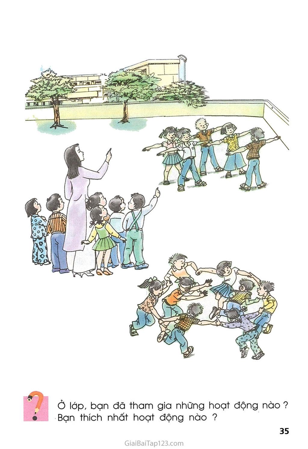 Bài 16. Hoạt động ở lớp trang 2