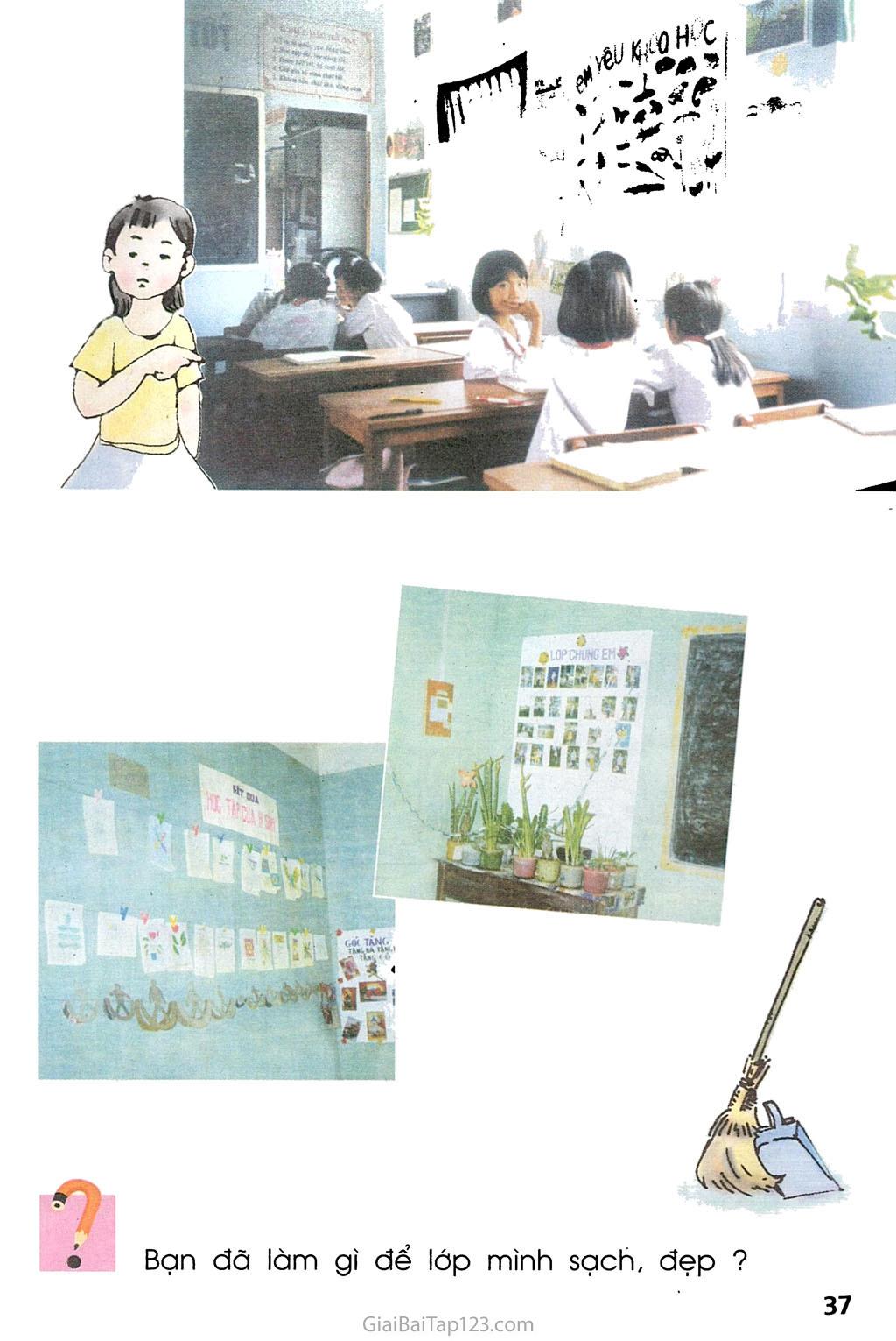 Bài 17. Giữ gìn lớp học sạch, đẹp trang 2