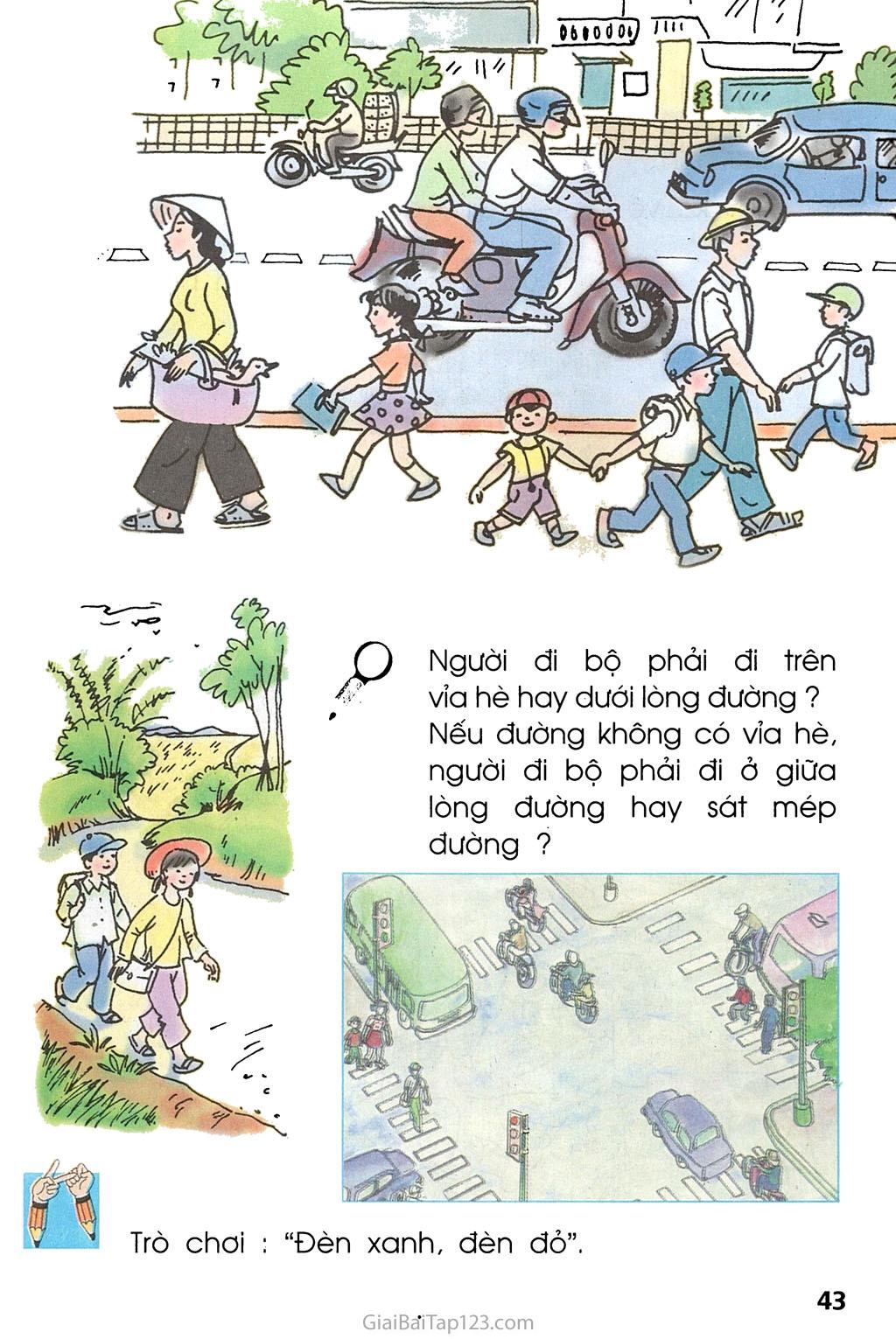 Bài 20. An toàn trên đường đi học trang 2