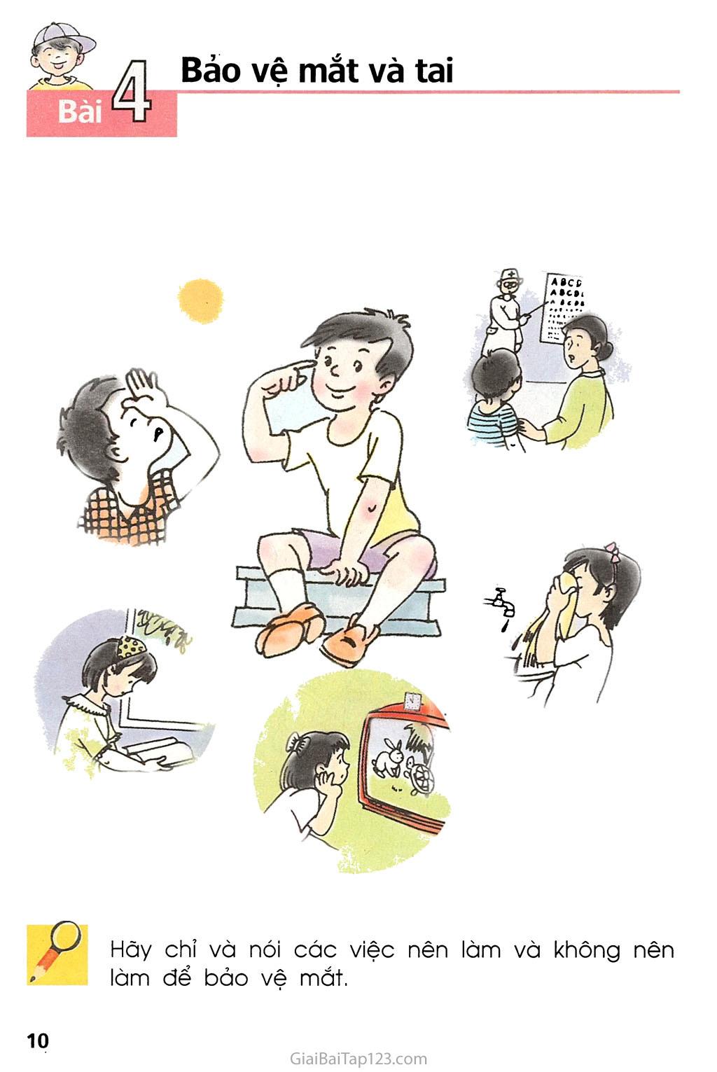 Bài 4. Bảo vệ mắt và tai trang 1