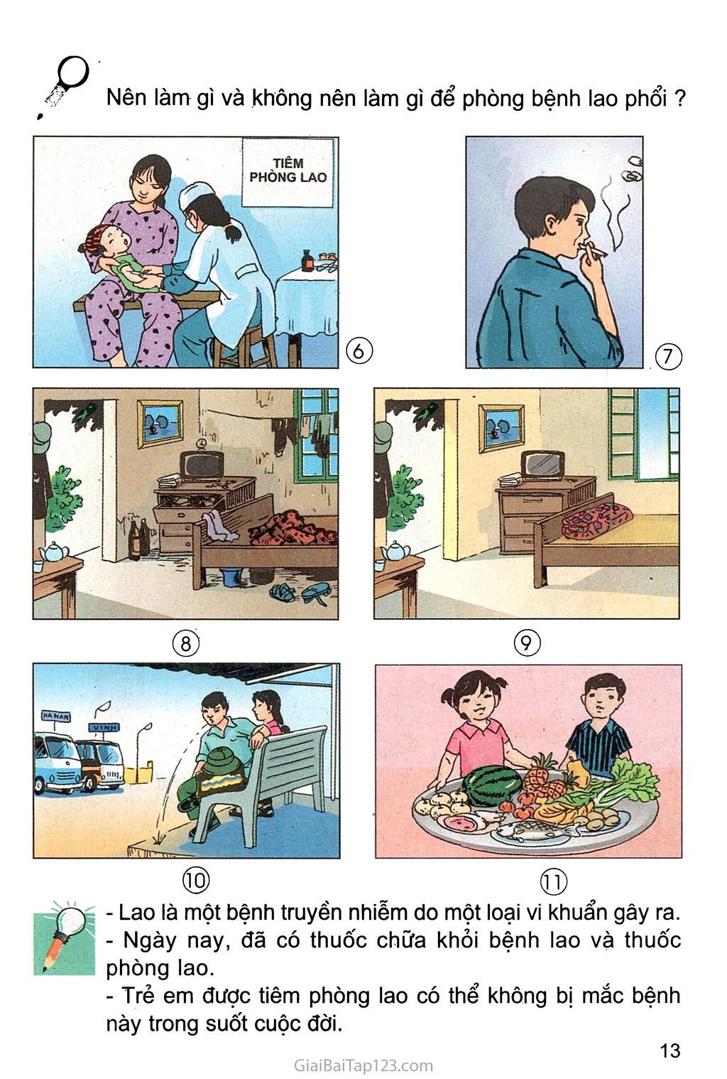 Bài 5. Bệnh lao phổi trang 2