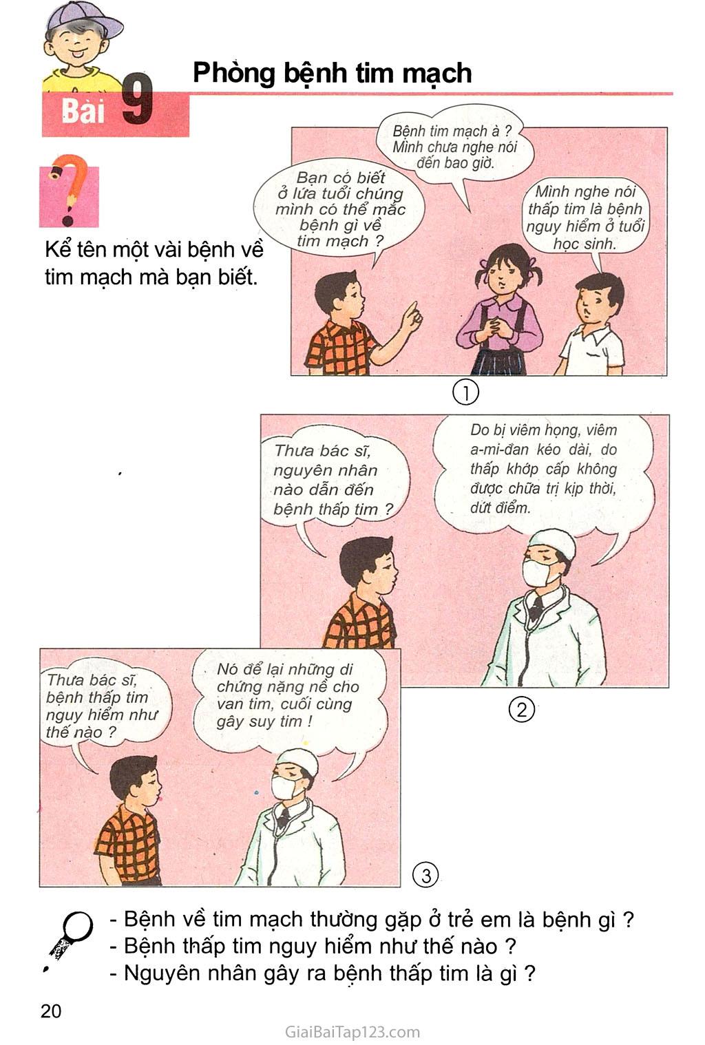 Bài 9. Phòng bệnh tim mạch trang 1